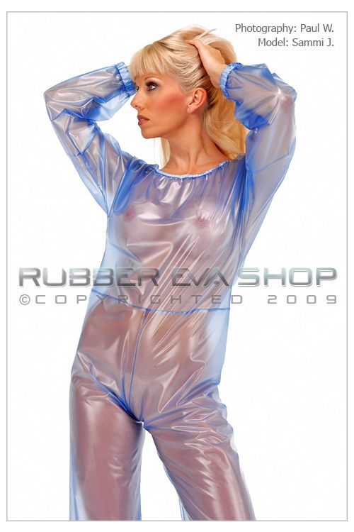 Long Plastic Playsuit
