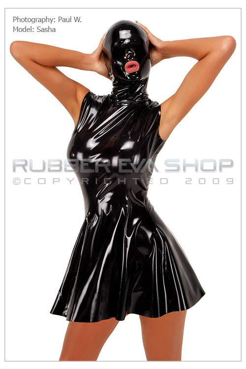 Latex Blackout Hood