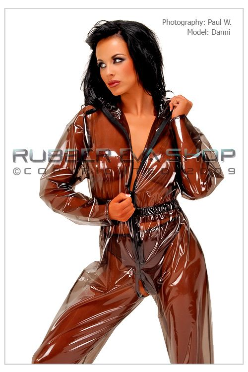 Plastic Breathplay Suit
