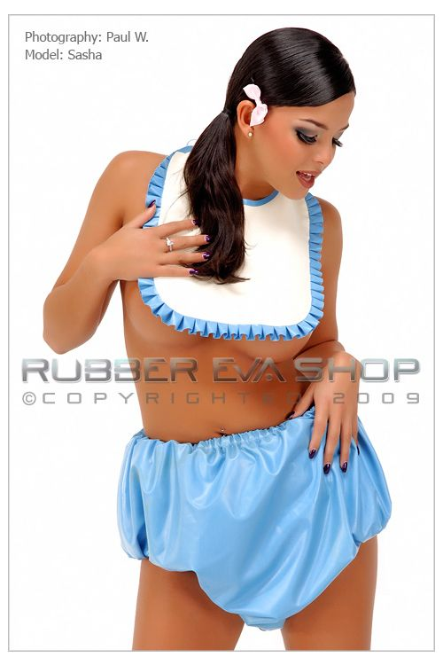 Frilly Rubber AB Bib