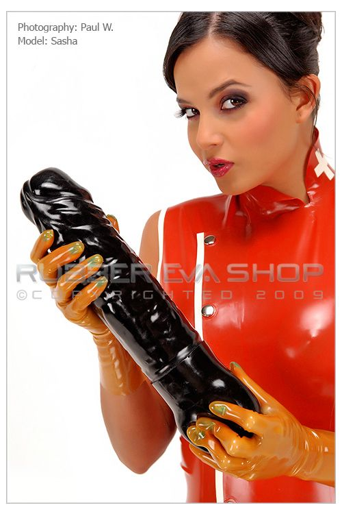 Huge Ejaculating Rubber Cock