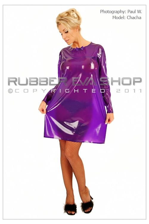 Short Rubber Nightie