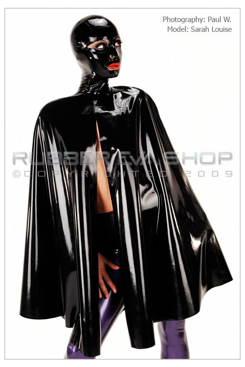 Hooded Rubber Cape