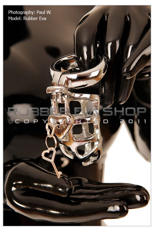 Small Lockable Cock and Ball Steel Chastity Cage